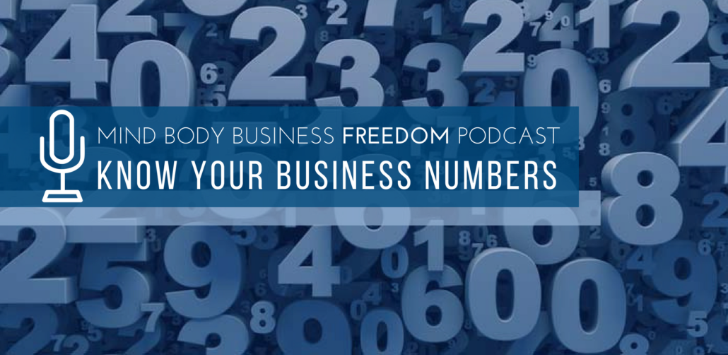 know your business numbers