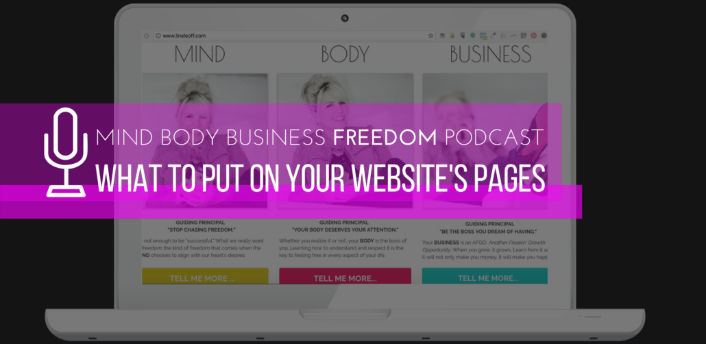 41 what to put on your website's pages